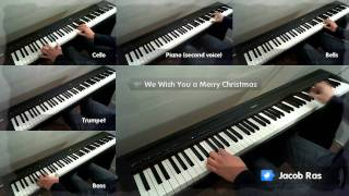 We Wish You a Merry Christmas piano cover