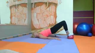 pilatesТренировка по методу Пилатес  от тренера Татьяны Андриановой   Занятие 7 с мячиком