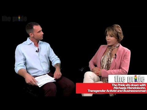 The Pride sits down with Michaela Mendolsohn, Transgender Activist and Businesswoman