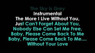 Without Your Love karaoke Chris Stapleton