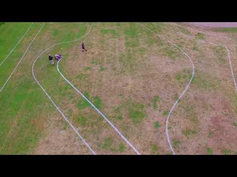 Bike to School Day - Track Layout at Bainbridge Island's Sakai Intermediate School
