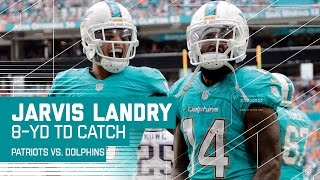 Jarvis Landry Sheds the Tackle & Powers in for a TD! | Pats vs. Dolphins | NFL Week 17 Highlights