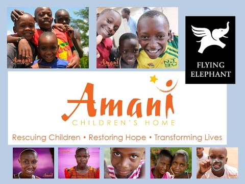 Presentation about Amani Children's Home, Centre for Street Children, Tanzania (Meindert Schaap)