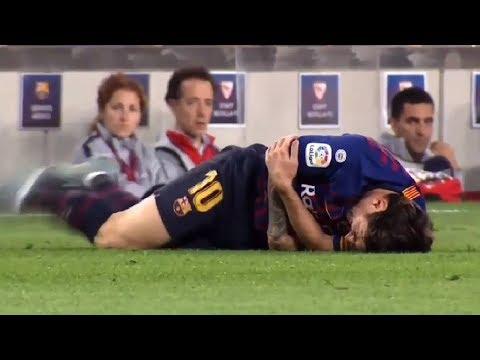 Lo que no se vio de la lesión de Messi