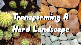 Gambar cover Transforming a Small Hard Landscape into a Beautiful Space