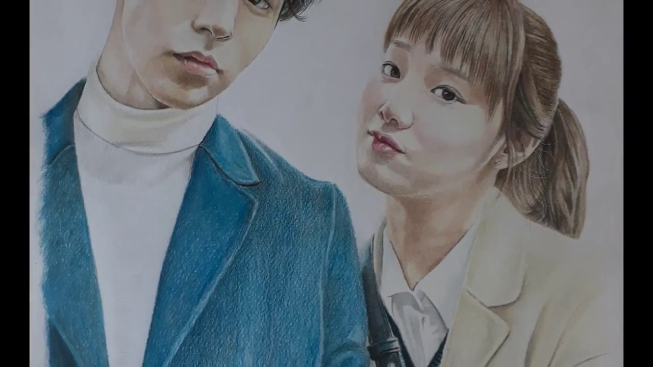 Color art nantes - Nam Joo Hyuk And Lee Sungkyung Speed Drawing