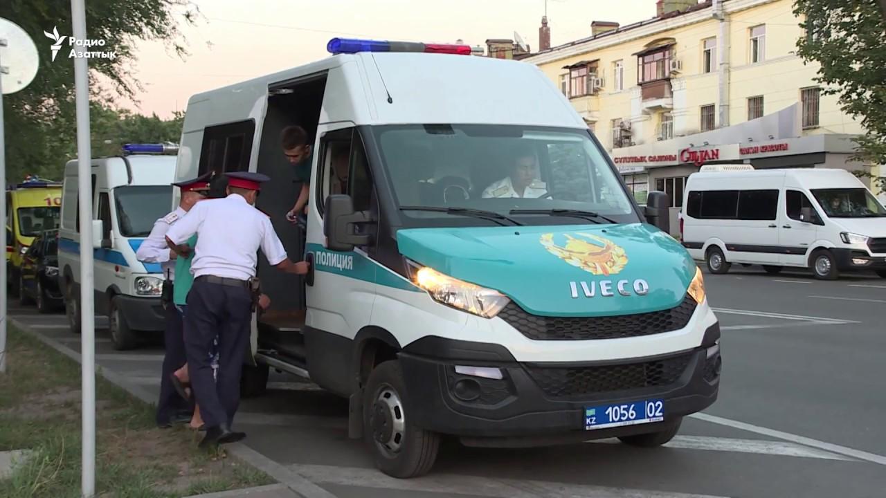 Задержания в День столицы Казахстана
