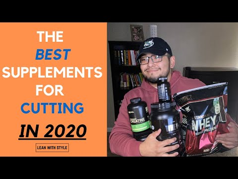 The Best Supplements for Cutting in 2020 (and why)