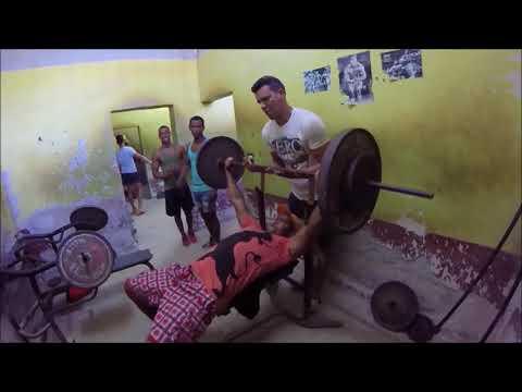 Gym in Havana, Cuba...