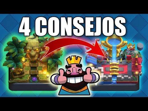 4 Consejos pa subir rapido a arena Legendaria - Clash Royale | Pepegames