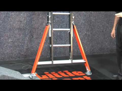 Little Giant Sumo Stance Ladder Youtube