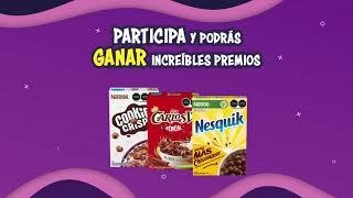 Participa en la promoción de Cereales Nestlé