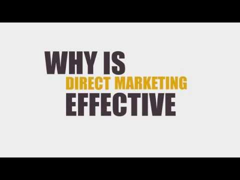 Executive Touch: Why is Direct Marketing effective?