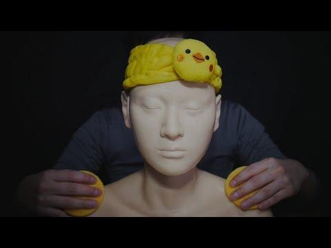 ASMR Massage From Scalp to Shoulder - Ear Massage (No Talking)