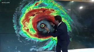 HURRICANE FLORENCE | Wednesday 5 a.m. update