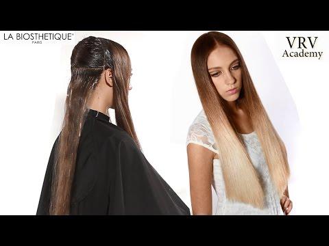 Омбре на длинный волос техника