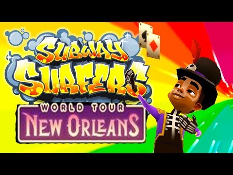 Subway Surfers World Tour #10 (New Orleans)   Android Gameplay   Friction Games