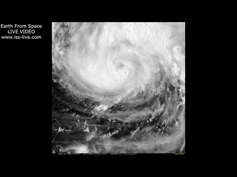 Hurricane Harvey - Earth From Space - latest views from Goes 16 satellite