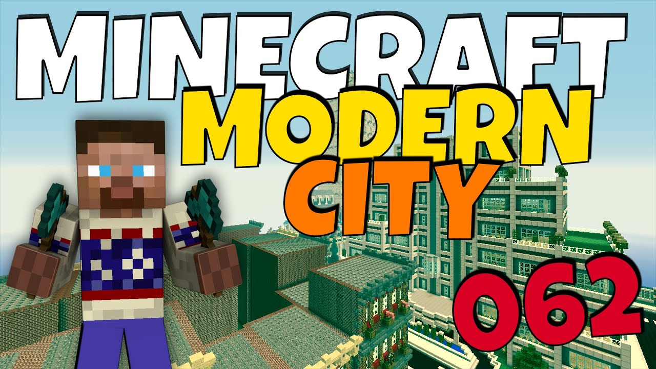 How to Build a Modern City in Minecraft Episode 62 YouTube