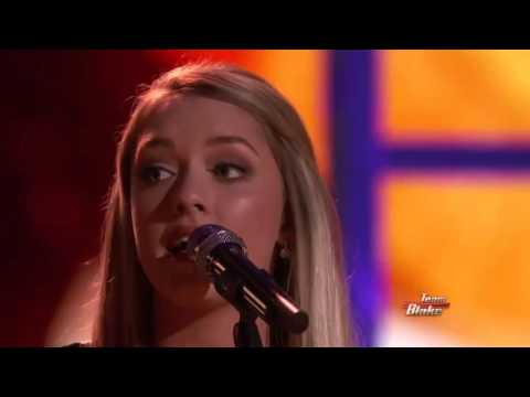 17-Year Old Emily Ann Roberts Sings Judd's Why Not Me - The Voice - Amazing