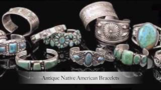 Native American Indian Jewelry, Navajo, Zuni Fetishes, Rugs, Antique Furniture, etc.