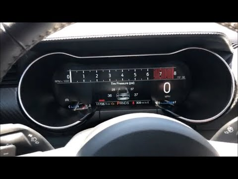 2016 Mustang | Sync 3 & Digital Gauge Cluster From Infotainment