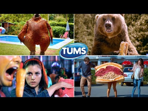 All Funniest Tums Antacid Food Fight Commercials