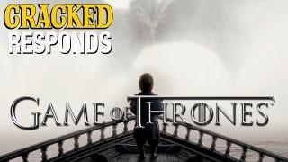 Game of Thrones Season 5 Trailer - Cracked Responds