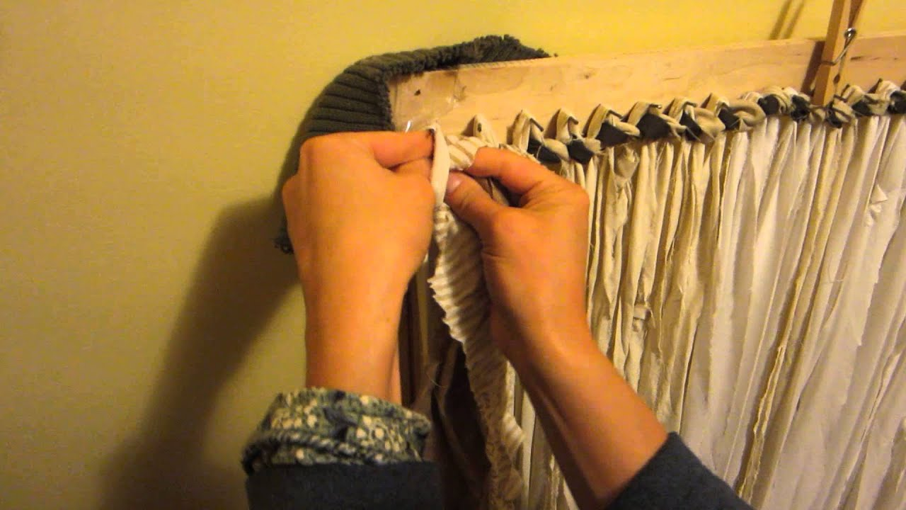 Rag Rugs: How To Turn Around At The End Of A Row   YouTube