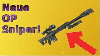 Nouveau Sniper Légendaire à Fortnite - Op Wallhack Sniper Fortnite (fr) Saison 5 nouvelle arme / sniper!