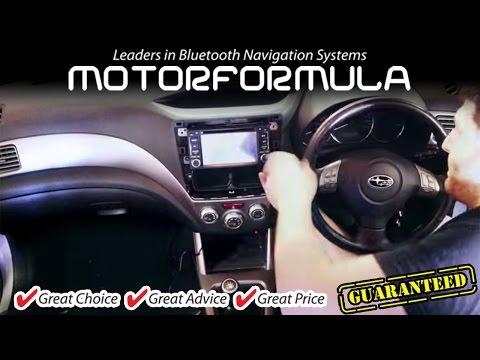 Car GPS DVD Player radio stereo head unit Subaru Forester Installation guide Impreza WRX