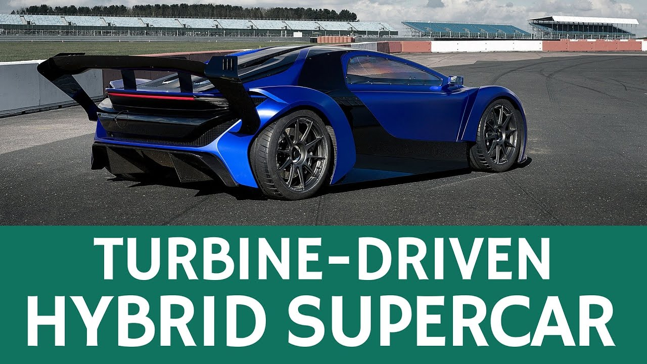 Longest Range Hybrid Vehicle 1569 Mpg Turbine Driven Chinese Supercar Techrules At96