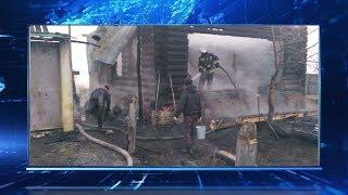 Крупный ночной пожар в Башкирии тушили два часа: погибли люди