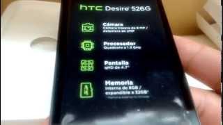 Htc Desire 526 Accesorios y Funciones Basicas