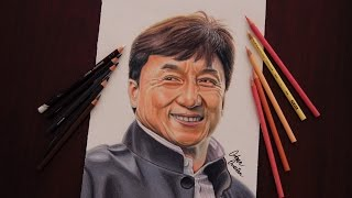 Jackie Chan Portrait Drawing | Portre Çizim