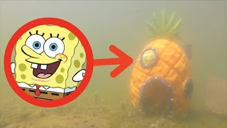 I FOUND SPONGEBOBS HOUSE IN REAL LIFE! *We Saw Him Too!!*