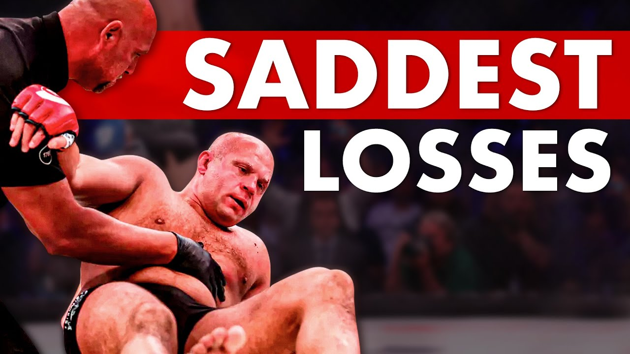 10 Most Saddening Losses in MMA