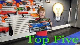 Nerf War:  Top 5 ways to ambush your dad