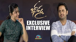 Nithiin And Rashmika Mandanna Exclusive Interview About Bheeshma Movie | NTV ENT