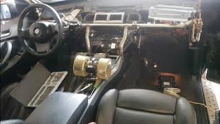 Замена маторчика печки BMW X5