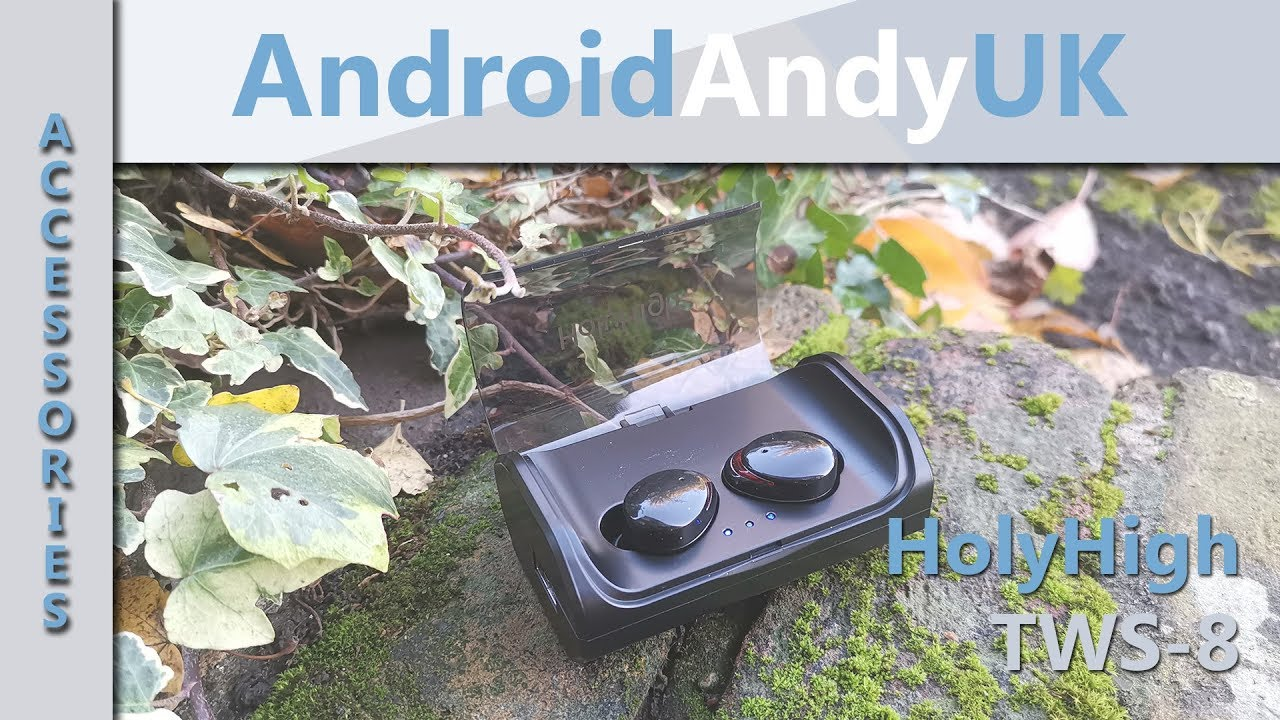 c0250436e25 HolyHigh TWS 8 Totally Wireless Earbuds - YouTube