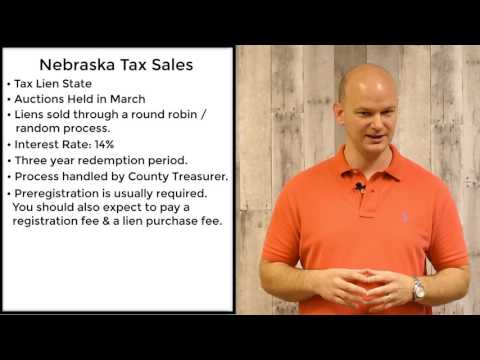 Nebraska Tax Sales - Tax Liens