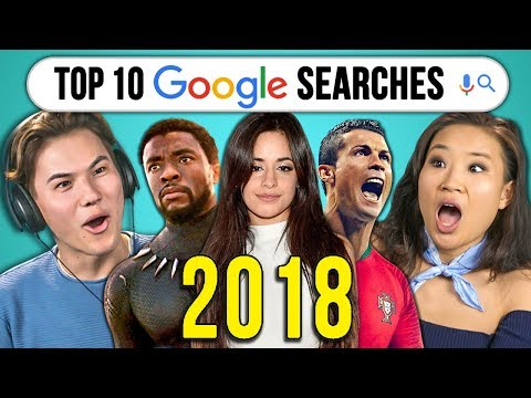 College Kids React To Top 10 Google Searches 2018 (Year In Review)