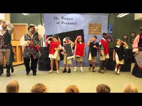 Fay School's Fourth Graders in The Pirates of Penzance