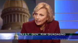 Lt. Governor Kim Guadagno on the New Jersey Capitol Report Part 1