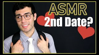 ASMR - Shy Nerd Role Play | Cute Date ❤️ (Male Whisper, Romantic, Personal Attention for Relaxation)