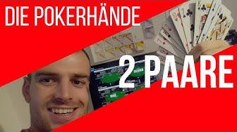Poker zwei Paare – Poker Hände bei Texas Holdem [Regeln lernen deutsch Video]
