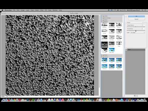 Photoshop CC  :  Grain And Textures Source Tutorial