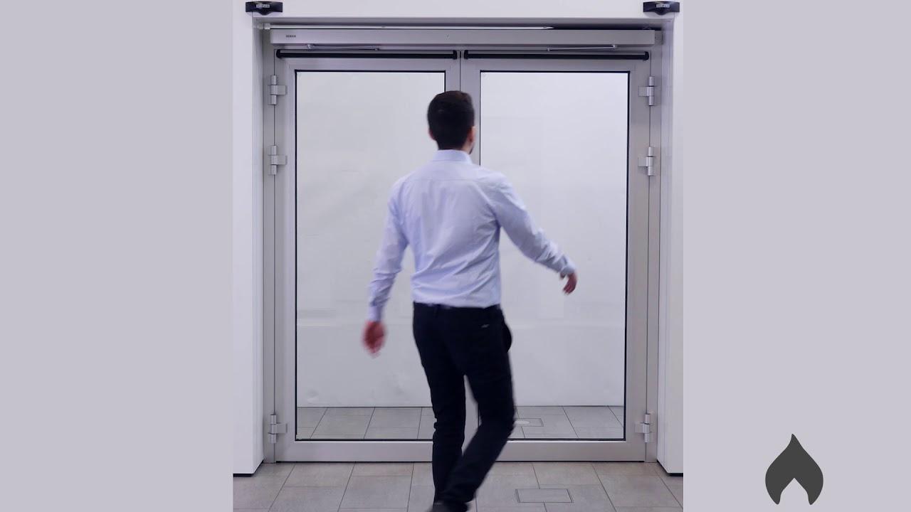 GEZE use case: ndschutzantrieb bei lokalem nd / Fire ... Fire Door Keep Shut Location on