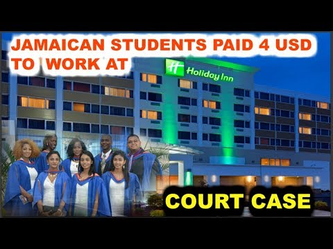 JAMAICANS WORKING FOR 4 US DOLLARS